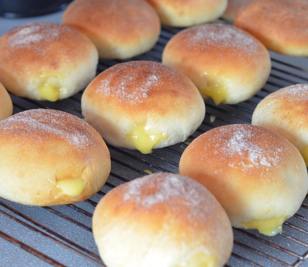 Lemon Curd Donut recipe
